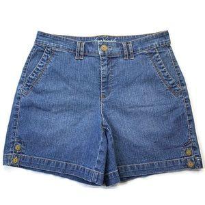 Gloria Vanderbilt Denim Women's Short Size 6